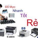 Đổ mực máy photocopy Xerox