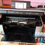 Đổ mực máy in tại hoàng ngân