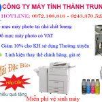 Sửa máy photocopy tại Thanh Xuân