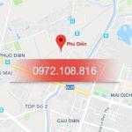 Đổ mực máy in tại khu tái định cư Phú Diễn, Cầu Diễn, Hà Nội.