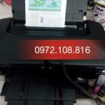 Reset thải máy in phun màu Canon tại Hà Nội.
